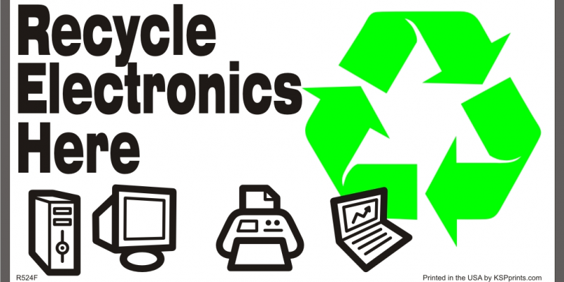 E Recycle Flyer